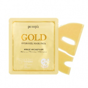 Petitfee GOLD Hydrogel Mask Pack 5pcs