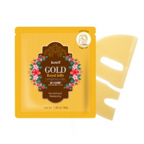 koelf GOLD Royal Jelly Hydrogel Face Mask 5pcs