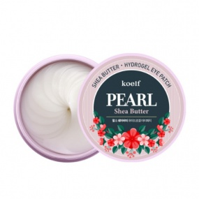 koelf PEARL Shea Butter Hydrogel Eye Patch 60 pcs