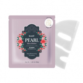 koelf PEARL Shea Butter Hydrogel Face Mask 5pcs