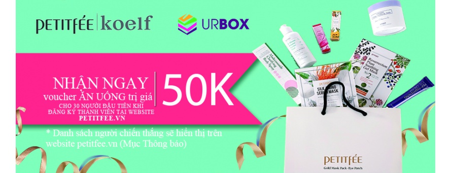 Voucher URBOX 50.000 VND